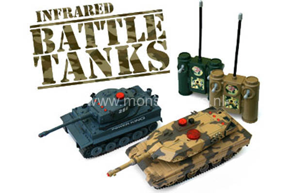 Infrared Battle RC Tanks (2 Tanks) SPECIAL OFFER! -